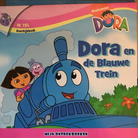 Dora en de Blauwe Trein