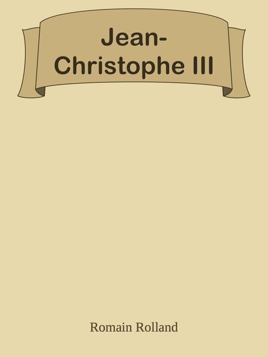 Jean-Christophe III