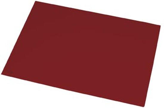 Bol.com bureauonderlegger 40x55cm rood rillsstab