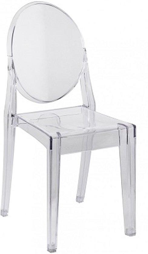 Transparante Design Stoelen.Ds4u Elisabeth Stoel Transparant