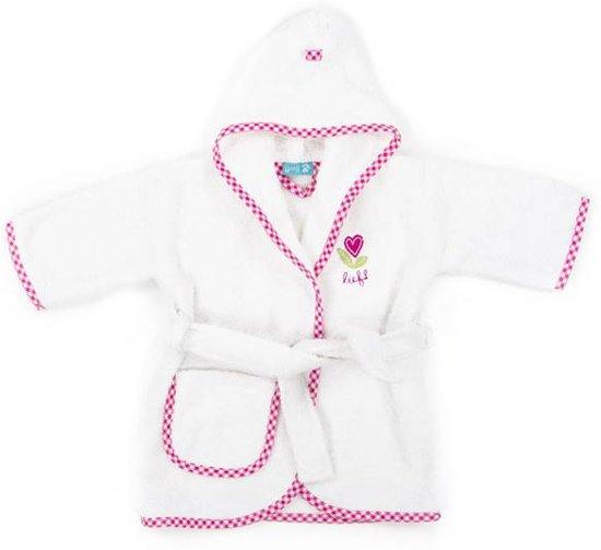 f8fd919135e bol.com | Lief! Girl Uni - Badjas - Katoen - 1-2 jaar - Wit