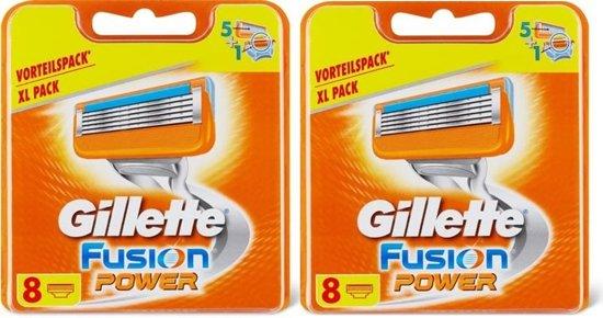 Gillette Fusion Power scheermesjes navulling - 12 stuks