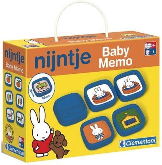 Afbeelding van het spel Clementoni Nijntje Baby Memo