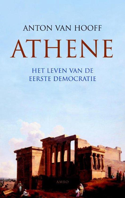 Boek cover Athene van Anton van Hooff (Hardcover)