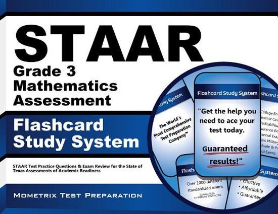 Afbeelding van het spel Staar Grade 3 Mathematics Assessment Flashcard Study System