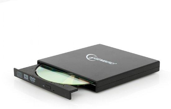 Gembird DVD-USB-02 DVD±RW Zwart optisch schijfstation