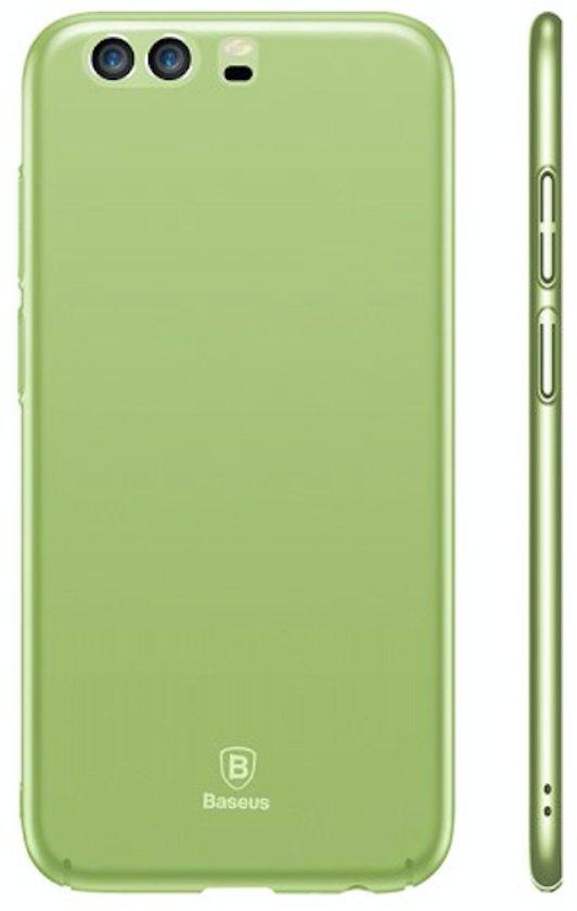 Ultra Thin Hard PC Matte Anti-fingerprint Case Cover voor Huawei P10 - Groen