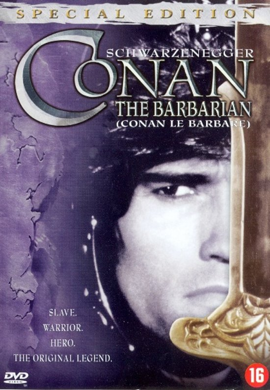 Cover van de film 'Conan The Barbarian'