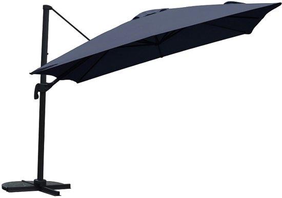 Voorkeur bol.com | PimXL Zweefparasol – Draaibaar - Ø300 cm – Antraciet YB17