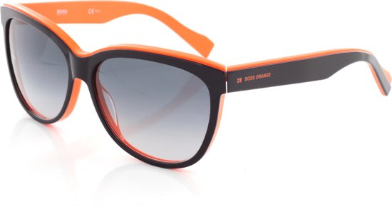 1556d20d58eaff Hugo Boss Orange BO0171 S SPI - Zonnebril - Zwart Oranje - 58 mm