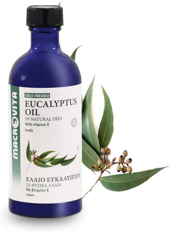 Macrovita Koudgeperste Eucalyptusolie - Huidolie