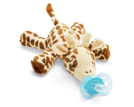 Philips Avent Snuggle SCF348/11 - Knuffelspeen - Girafje