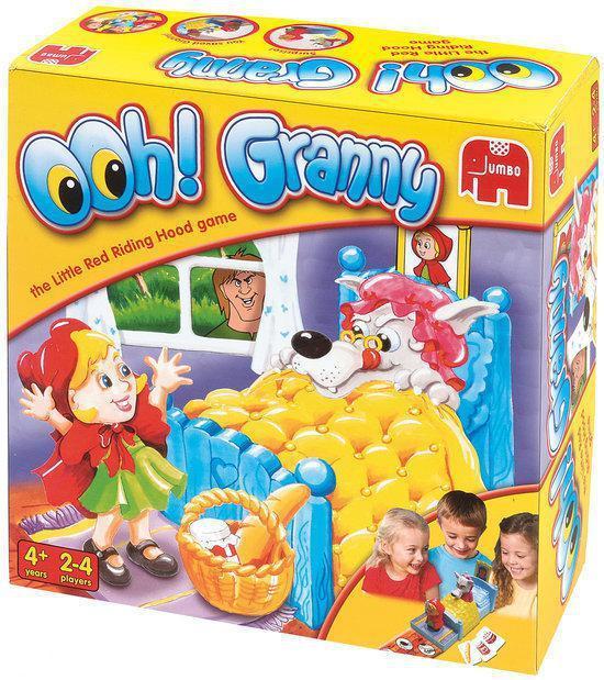 Ooh! Grootmoeder - Het Roodkapjespel