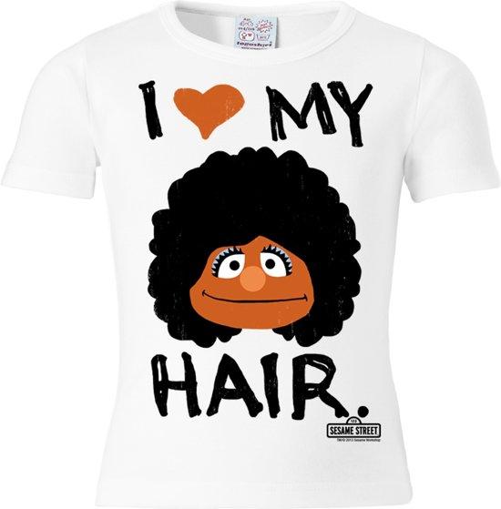 Logoshirt T-Shirt I Love My Hair - Sesamstrasse