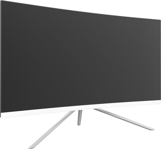 Denver Electronics MLC-2702G 27'' Full HD LED Gebogen Wit computer monitor