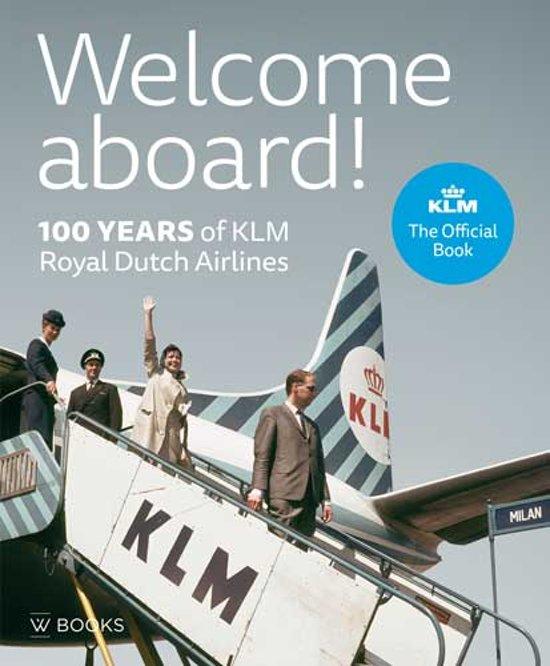 Boek cover Welcome aboard! van Bram Bouwens (Hardcover)