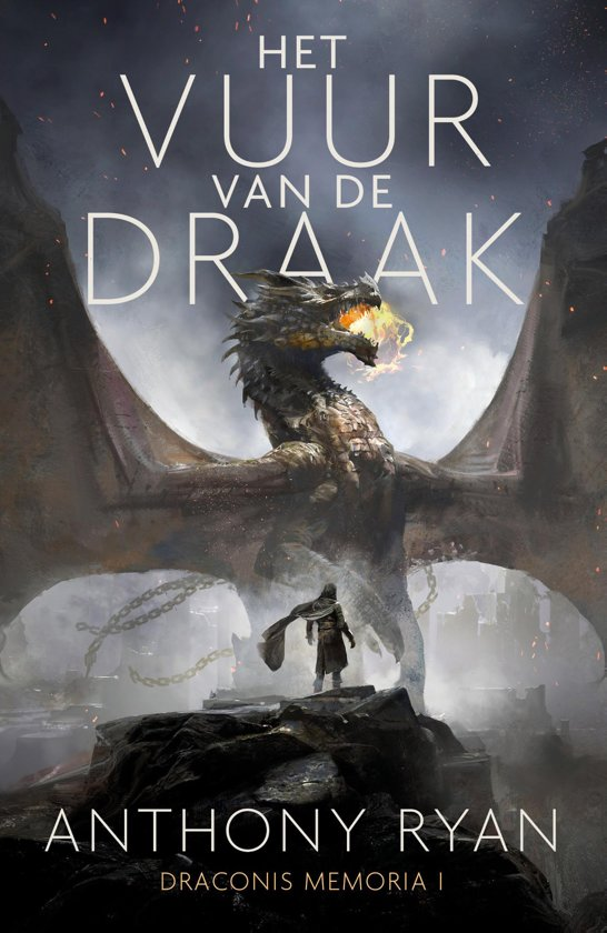 Boek cover Draconis Memoria 1 - Het Vuur van de Draak van Anthony Ryan (Onbekend)