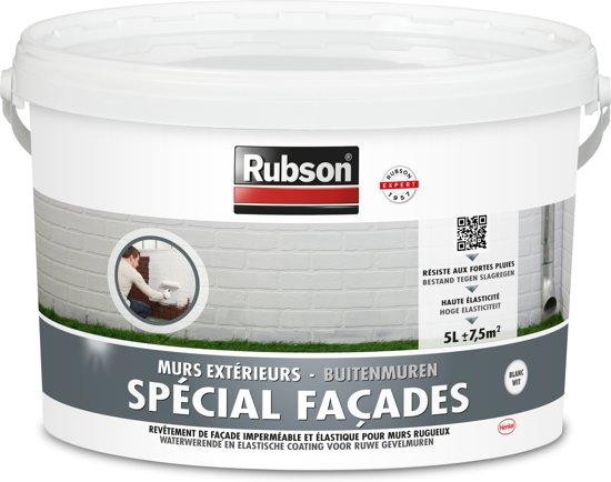 Rubson Spécial Façades Coating Buitenmuur - 5 Liter - Wit