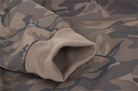 Fox Chunk Camo Softshell Hoodie | Maat M kAE3iLPQ ulkrwEht