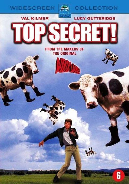 Cover van de film 'Top Secret!'