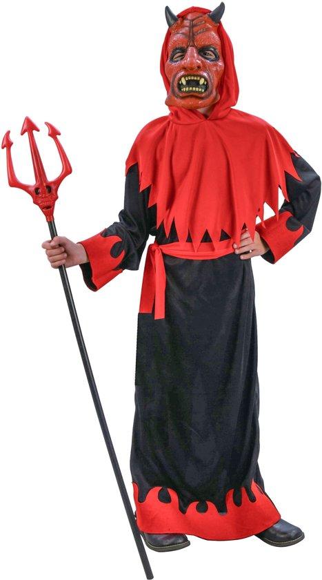 Halloween Pak.Verkleedkostuum Onheilspellende Duivel Voor Jongens Halloween Pak Verkleedkleding 128 134
