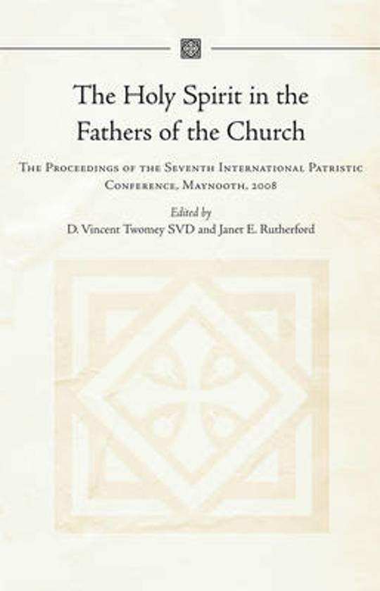 The Holy Spirit in the Fathers of the Church
