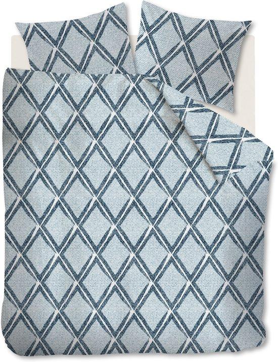 Beddinghouse Peru - Dekbedovertrek - Tweepersoons - 200x200/220 cm - Blauw