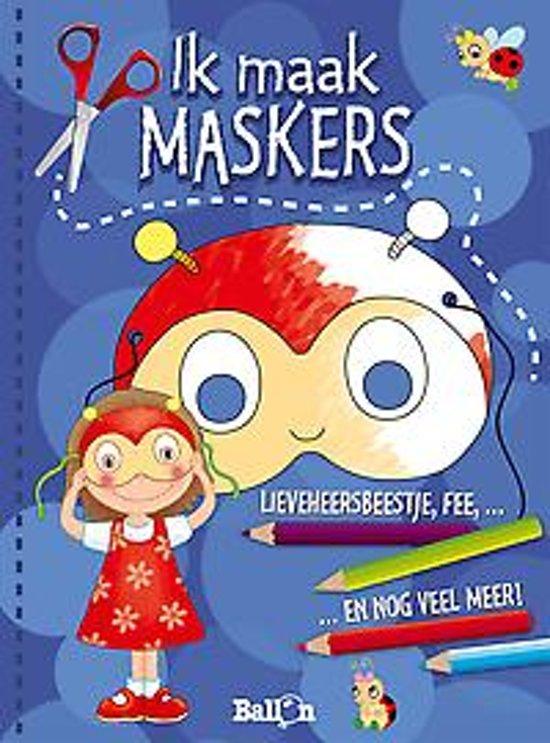Afbeelding van het spel Ik maak maskers (blauw)