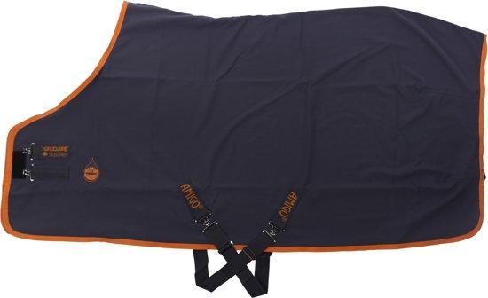 Horseware Zomerdeken  Amigo Stable - Dark Grey-orange - 190 Cm