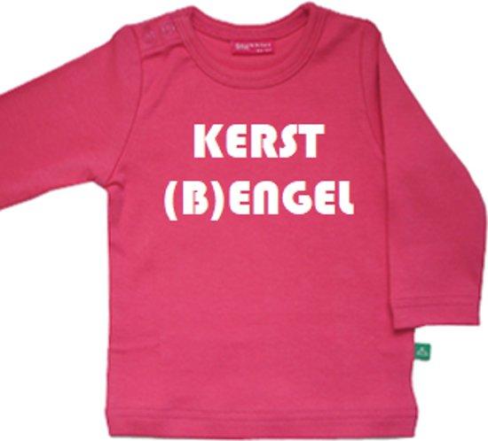 Bol Com Drukkies Shirt Kerst Engel Maat 86 92