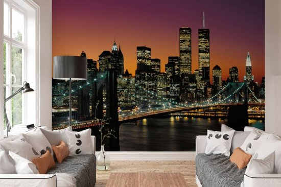 Muurposters New York.Top Honderd Zoekterm Fotobehang New York