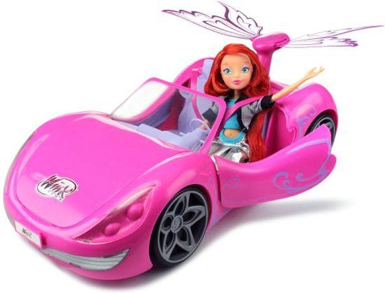 Winx Club Bloom and Magical Car - Speelgoed auto met Pop - Cadeauset