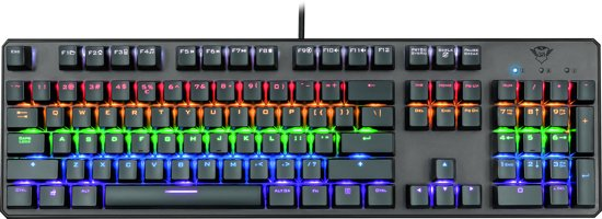 Trust GXT 865 Asta -  Mechanisch Gaming Toetsenbord - Qwerty