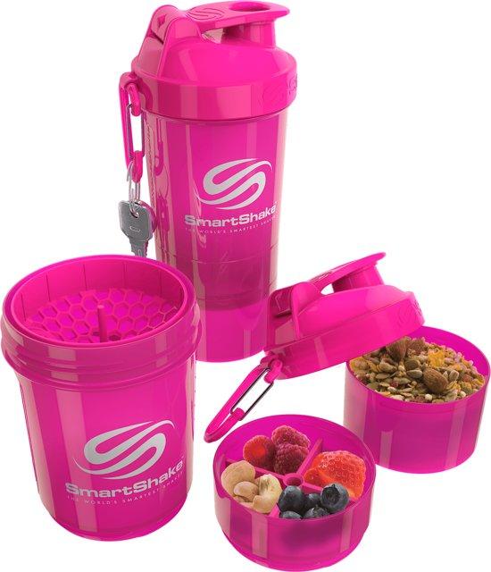 SmartShake Original2GO 600ml 1shaker Neon Pink