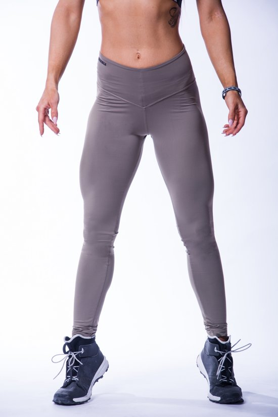 Sportlegging Vrouwen.Bol Com High Waist Sportlegging Dames Scrunch Butt Mokka Nebbia 604