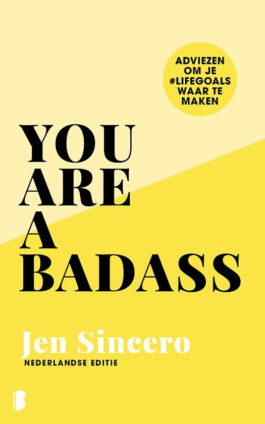 Boek cover You are a badass van Jen Sincero (Hardcover)