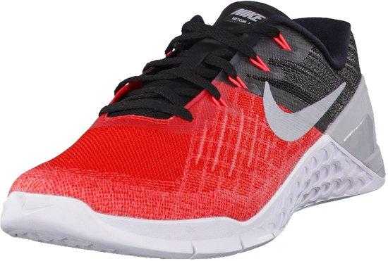 6c9c709580e bol.com | Nike Metcon 3 Black/Red Maat: 45.5