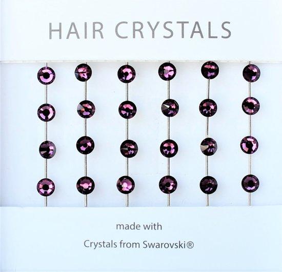 JwelU Haarkristallen BB1-06 Amathyst