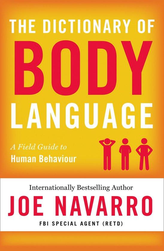 Boek cover The Dictionary of Body Language van Joe Navarro (Onbekend)