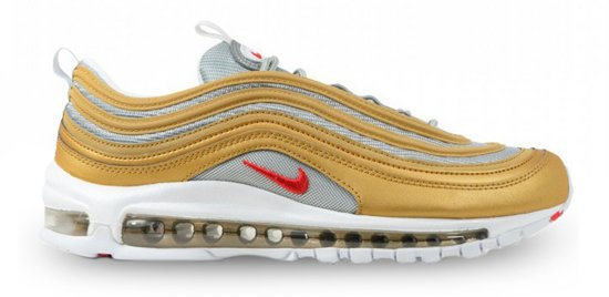 Nike Air Max 97 SSL sneaker goud zilver maat 41