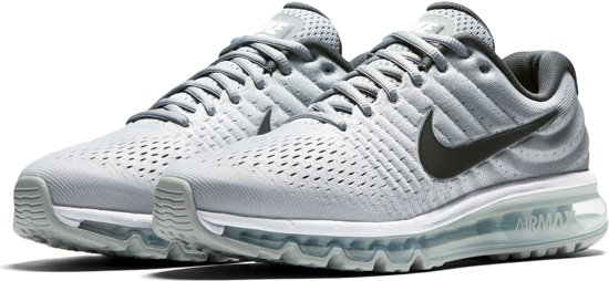 nike air max 2017 wit grijs