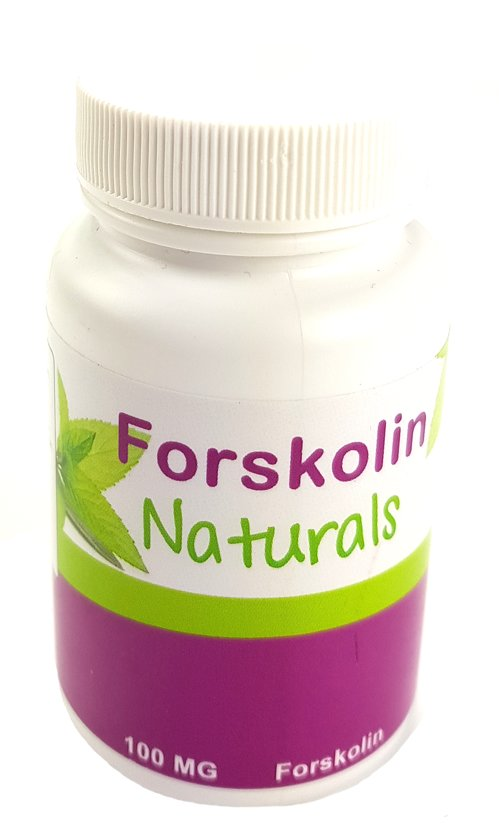 bol | forskolin naturals - 60 capsules - voedingssupplement