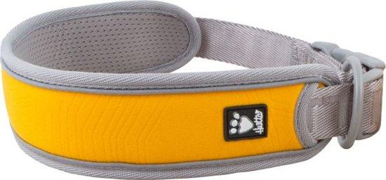 Hurtta halsband voor hond  adventure oranje / grijs 25-35 cm