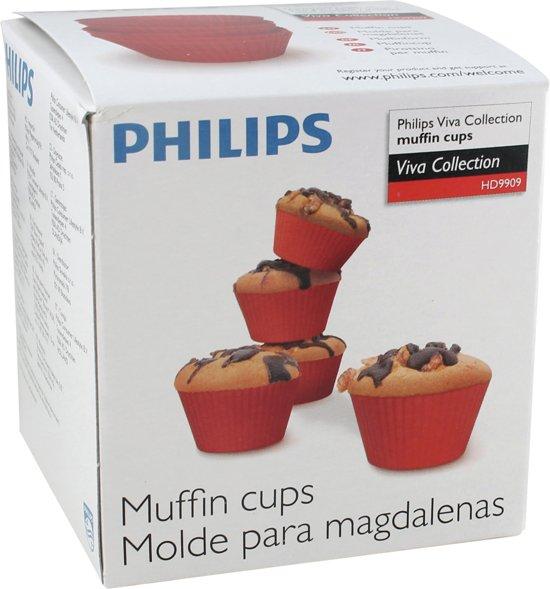 Philips Airfryer HD9909/00 - Siliconen muffinvormen XL