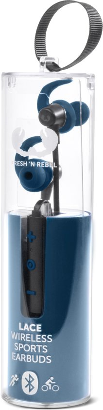 Fresh 'n Rebel Lace Wireless Sports Blauw