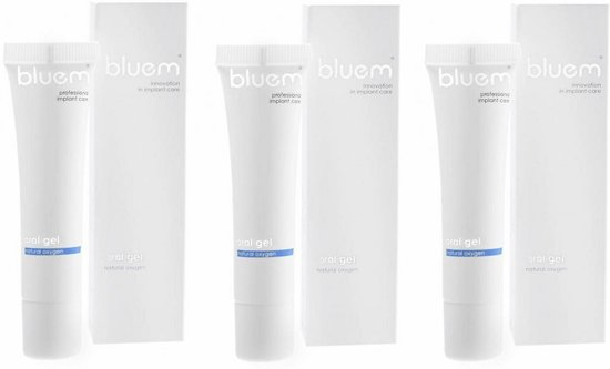 Foto van Bluem Oral Gel - 3 stuks - Voordeelverpakkking