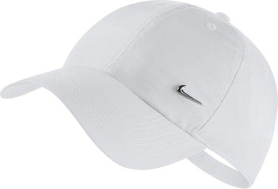 8220b038ac730 ... germany nike metal swoosh h86 cap cap unisex white metallic silver  88f79 94bd7