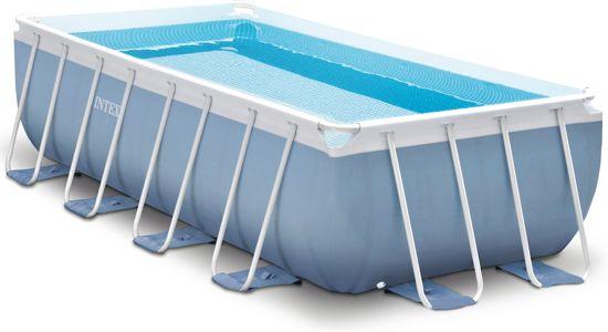 Bestway levant zwembad set ovaal grijs 300 cm for Intex zwembad grijs