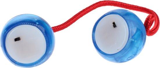 Afbeelding van het spel Toi-toys Turbo Ballz Blauw Met Licht
