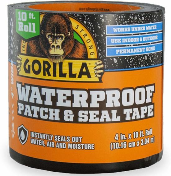 Gorilla Waterbestendige  Patch & Seal Tape Hecht zelfs Onder Water